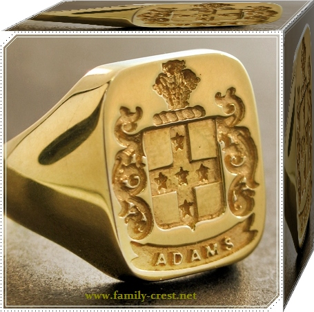 Family Crest Rings on Family Crest Rings    Societygifts Military Rings